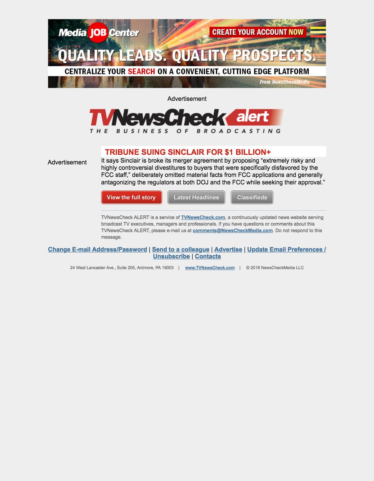 TVNewcheck Alerts