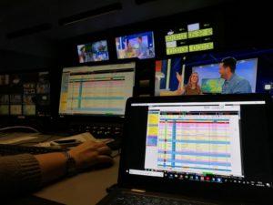Welt newsroom