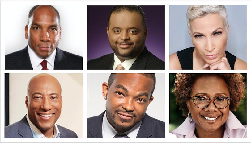 Black-Owned Media Upfront 2021 speakers