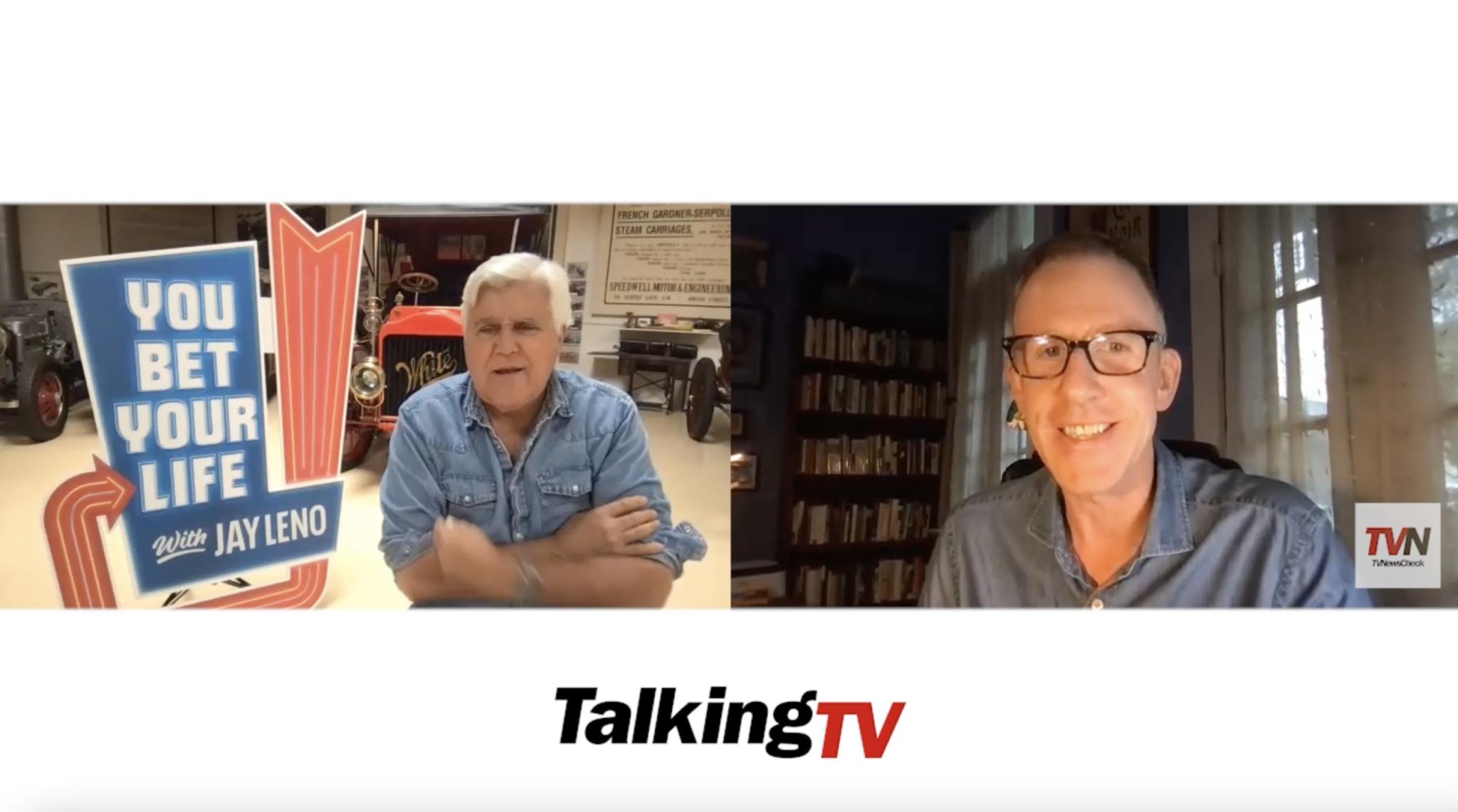 Talking TV: Jay Leno's Latest Bet