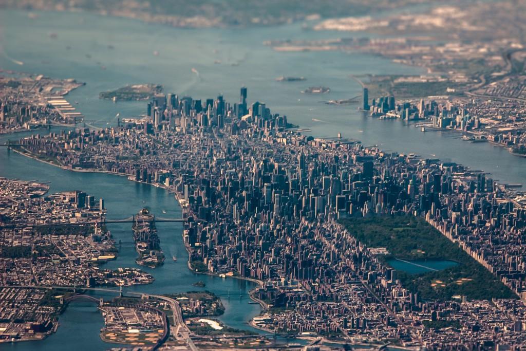 Manhattan-aerial-view-photo