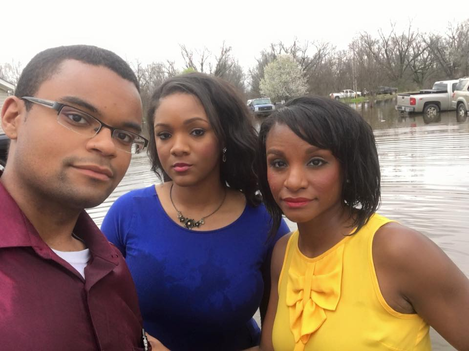Aaron Cantrell, Danielle Beckford and Nicole Cross After capturing what residents in Double K Estates are dealing with following historic flooding – our boat CAPSIZED. We were completely submerged in flood water. In a matter of minutes, we went from covering the story to being a part of it. But, I count it all joy – just a small price to pay to expose what the people here and in so many other parts of the ArkLaMiss are facing. So thankful for all of you who are stepping in to help out. Nicole Cross