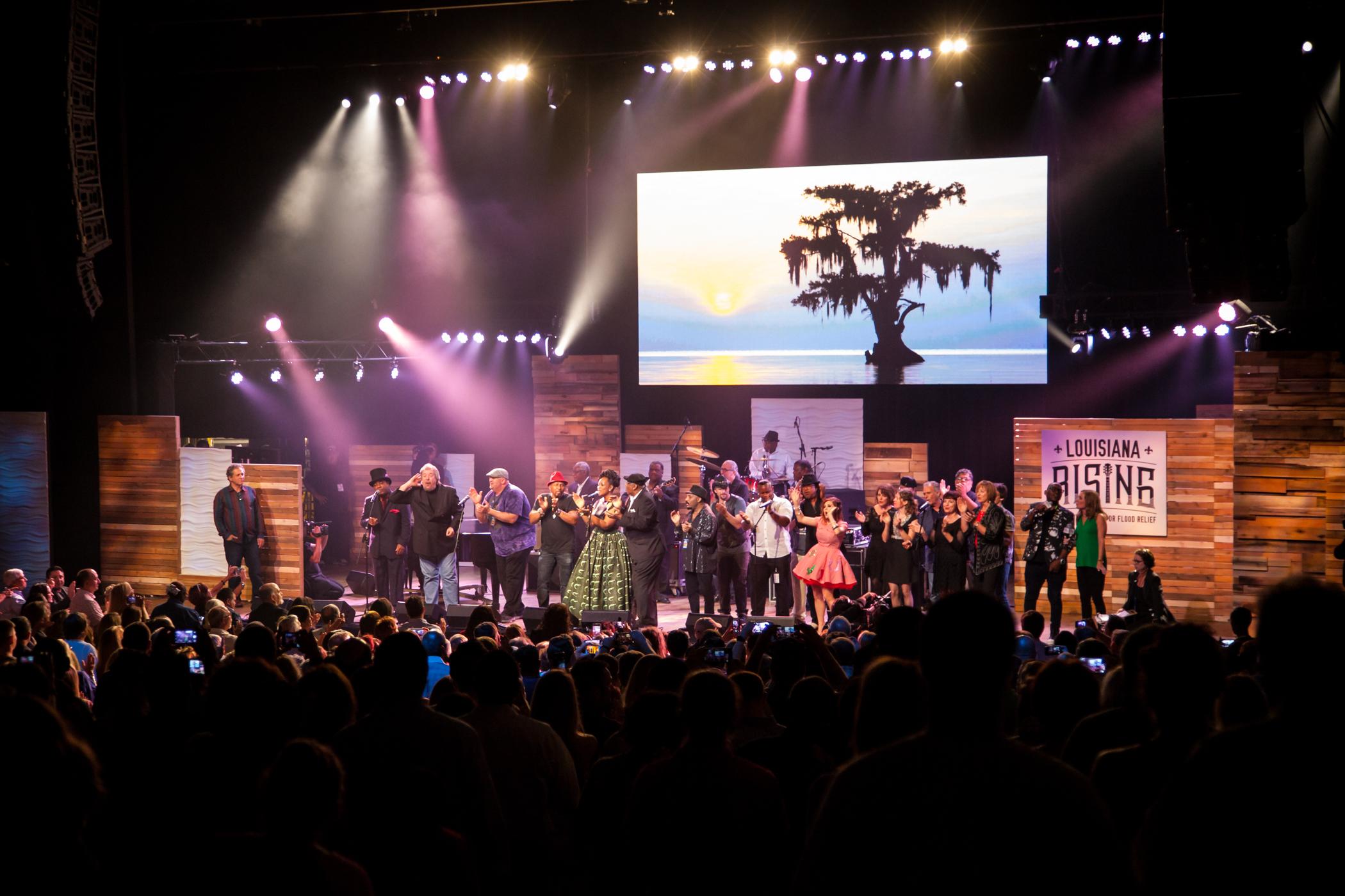 Louisiana Rising Concert Picture