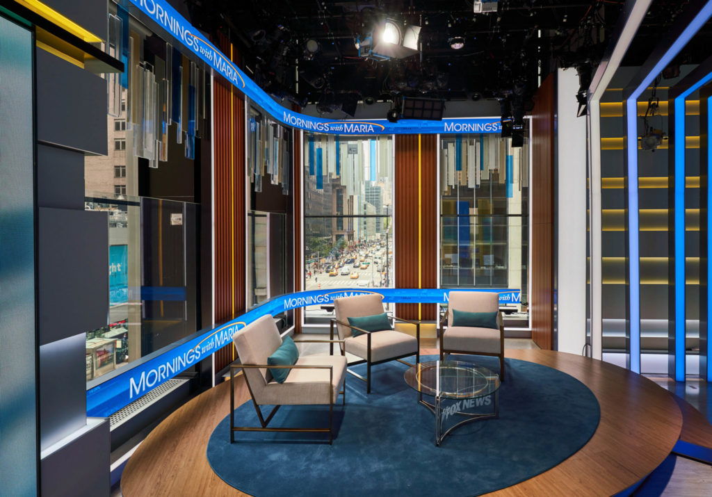 Fox Business Network Debuts Revamped Studio Today ...