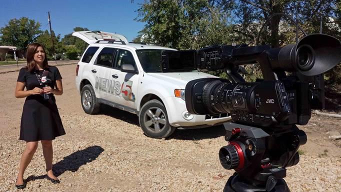 KOAA Uses JVC-HM650 For Live Shots Of Colo. Floods